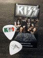 KISS Mexico Hell and Heaven Metal Fest 2014 Gene Simmons Guitar Pick
