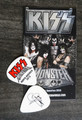 KISS Monster Common Color North America Guitar Pick 2013 Gene Simmons
