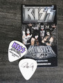 KISS Monster Common Color North America Guitar Pick 2013 Paul Stanley