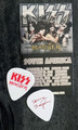 KISS Monster Common Red Guitar Pick Tommy Thayer
