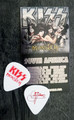 KISS Monster Common Red Guitar Pick Gene Simmons