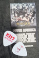 KISS Monster Common Red Guitar Pick Paul Stanley
