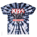 KISS DESTROYER '76 Tie-Dye Tshirt