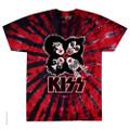 KISS Rock & Roll Over  BURST Tie-Dye Tshirt