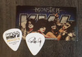 KISS Monster Common Gold Australia Paul Stanley Guitar Pick