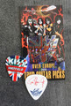 KISS Sonic Boom Europe Sheffield 050110 Guitar Pick Paul Stanley