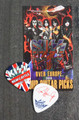 KISS Sonic Boom Europe New Castle 050210 Guitar Pick Paul Stanley
