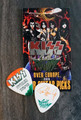 KISS Sonic Boom Europe Dublin Ireland 050710 Guitar Pick Paul Stanley