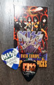 KISS Sonic Boom Europe Glasgow Scotland 050910 Photo Guitar Pick Gene Simmons