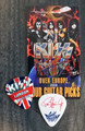 KISS Sonic Boom Europe London 051210 Guitar Pick Paul Stanley