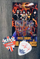 KISS Sonic Boom Europe London 051310 Photo Guitar Pick Paul Stanley