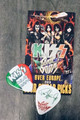 KISS Sonic Boom Europe Milan 051810 Guitar Pick Paul Stanley
