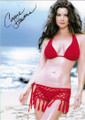 Carrie Stevens Signed Photo in Red Bikini