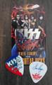 KISS Sonic Boom Europe Ostrava 052110 Guitar Pick Eric Singer