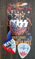 KISS Sonic Boom Europe Ostrava 052110 Guitar Pick Paul Stanley