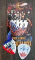 KISS Sonic Boom Europe Ostrava 052110 Guitar Pick Paul Stanley