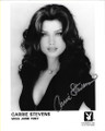 Carrie Stevens Signed Playboy Headshot