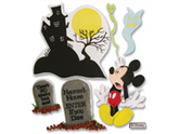 Jolees 312394 Disney Vacation Dimensional Sticker-Haunted House Mickey