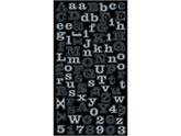 Jolees 426201 Bling Stickers-Silver Mini Foil Alphabet