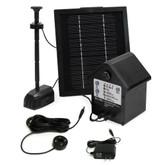Solar Hybrid Pump, Medium - 80 GPH