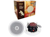 "6.5"" (250W) Mid-Bass 2-Way In-Ceiling Speaker System - 2 Pieces - White"