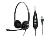Circle Series SC 260 USB ML Stereo Headset for Microsoft Lync - Black
