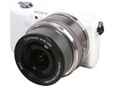 SONY Alpha a5000 ILCE-5000L/W White Compact Interchangeable Lens Digital Camera with 16-50mm Lens