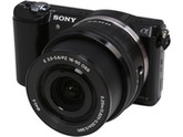 SONY Alpha a5000 ILCE-5000L/B Black Compact Interchangeable Lens Digital Camera with 16-50mm Lens
