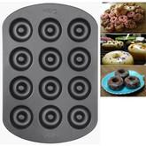 Wilton Mini Doughnut Pan - bakes 12 donuts
