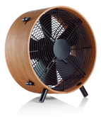 OTTO Floor Fan Makes Wind Bamboo Wood