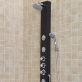 Black Matte Shower Panel System