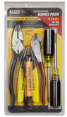 Electrician's 6 pc Tool & Test Kit