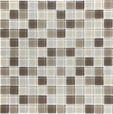 1X1 Calm Beige Glass Mosaic