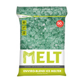 MELT 50 Lb. Resealable Bag Premium Enviro-Blend Ice Melter W/ CMA
