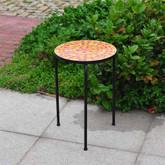 """Sunjoy Monterey Orange 14"""" Plant Stand"""