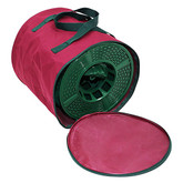 4 CT Large Storage Reels with Storage Bag - Burgundy