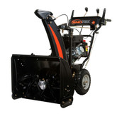 Sno-Tek 24 120v Six Speed Electric Start Gas Snow Blower with 24-Inch Clearing Width