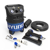 Hyundai 2 Gal. Portable Electric Air Compressor With 5-Tool Handy Kit