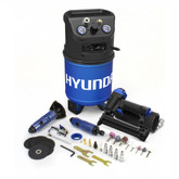 Hyundai 3 Gal. Portable Electric Air Compressor With 5-Tool DIY Kit