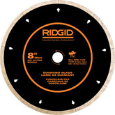 8 Inch ridgid Porcelain Diamond Blade