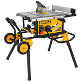 10 Inch Table Saw (32-1/2 Inch Rip Capacity) with Rolling Stand w/ Guard Detect