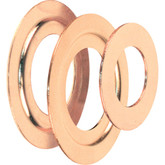 Brass Plated Bore Adaptor Ring Set