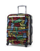 "American Tourister International 21"" Expandable Spinner Suitcase - BLACK - 20"