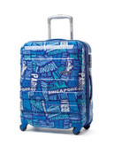 "American Tourister International 21"" Expandable Spinner Suitcase - BLUE - 20"