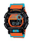 Casio Mens Digital Protector Style Watch GD400DN-4 - ORANGE