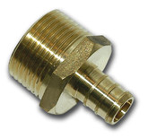 1/2 Inch Barb X 3/4 Inch Male Pipe Thread Adapter