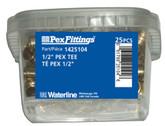1/2 Inch Pex Tee 25 Pack
