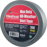 Nashua 398 Max-Duty All-Weather Duct Tape, Silver, 1.89 in x 60yd