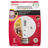Battery Operated Safety Light Smoke Alarm with Hush Feature