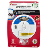 Battery Operated Front Load Smoke Alarm with Hush Feature